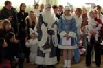 Св. Миколай разом з зайченятами